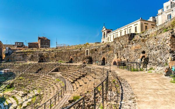 Teatro griego de Catania
