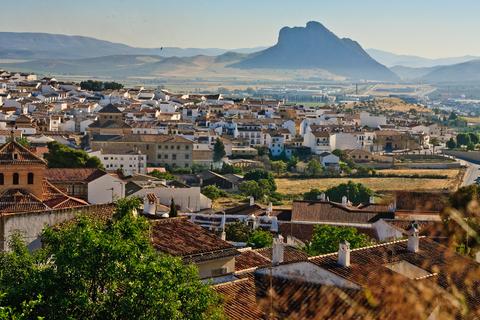 Vista panorámica de la ciudad de Antequera