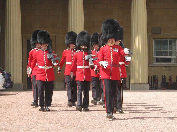 Desfile de la Guardia Real en Londres