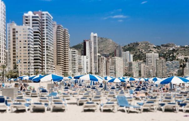 Hoteles en Benidorm en playa de Levante