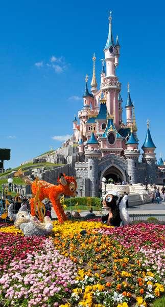 Castillo en Disneyland París