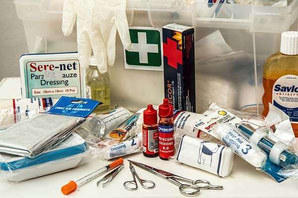 botiquin de emergencias