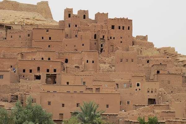 Ait Ben Haddou . pueblos y ciudades de Marruecos
