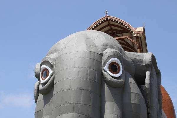 Elefanta Lucy en Nueva Jersey