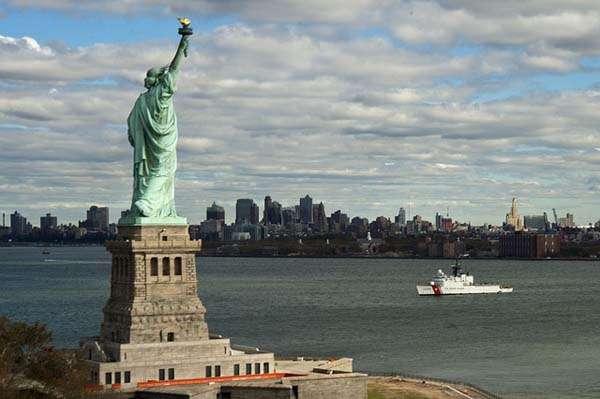 Estatua de la Libertad en Nueva York