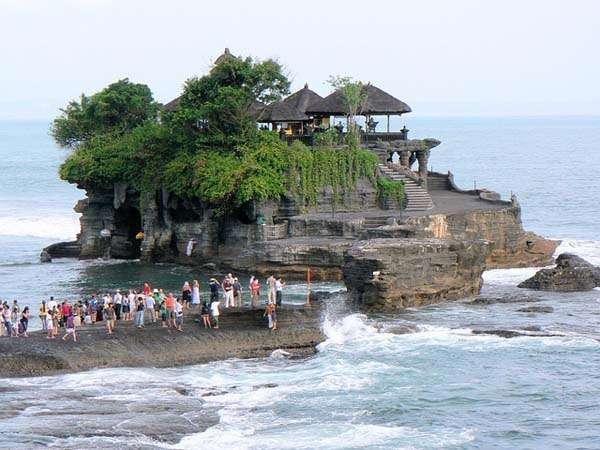 Tanah Lot en Bali