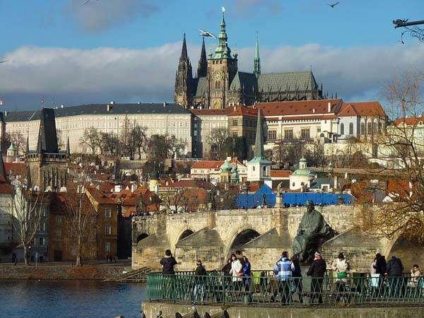 El barrio de Hradcany en Praga