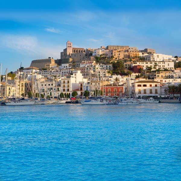 Panorámica de Ibiza
