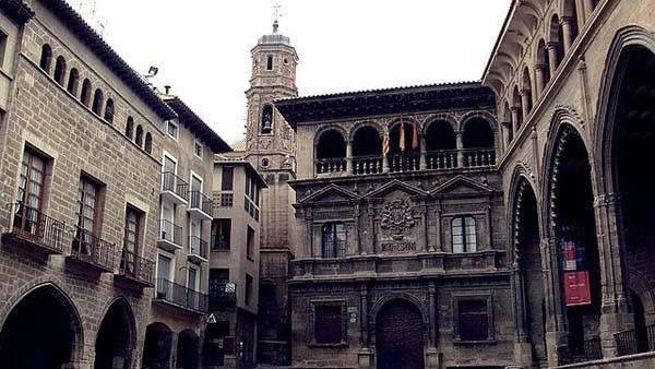 Alcañiz Teruel Plaza España