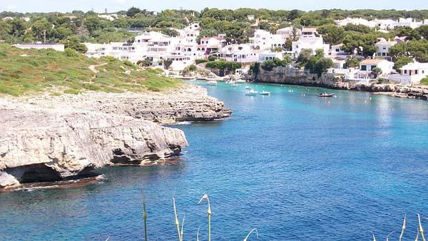 Calas en Menorca