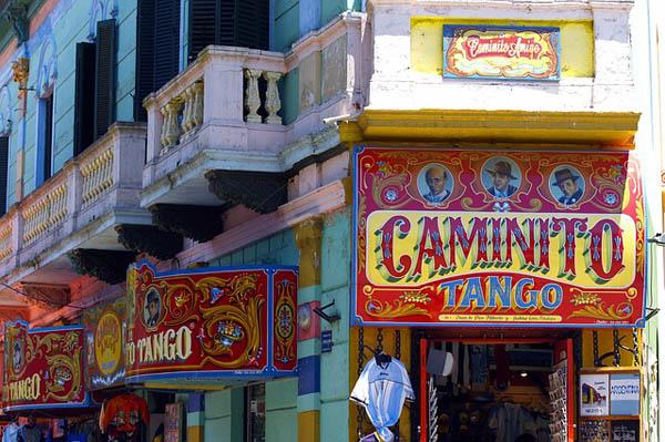 Caminito en Buenos Aires