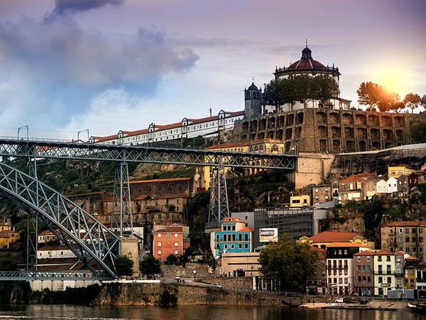 Vista de Oporto