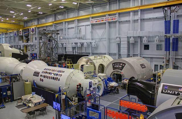 Centro Espacial Internacional en Houston