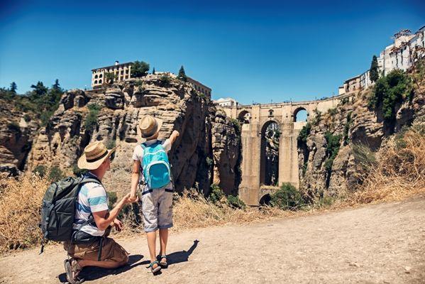 Andalucia el Tajo de Ronda