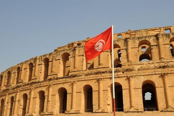 Anfiteatro el Djem en Tunez