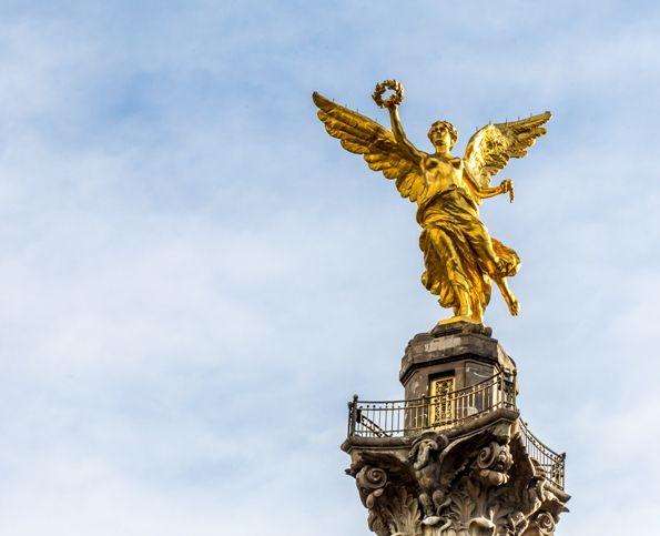 Angel de la Independencia en Mexico DF