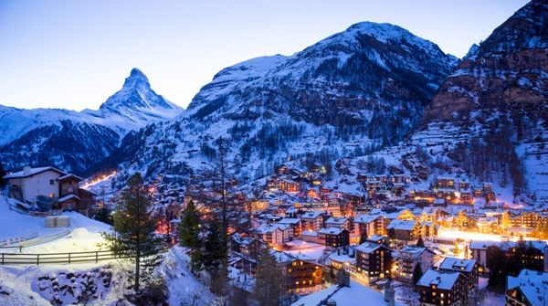 Estacion de esqui de Zermatt
