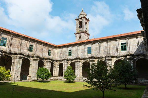 Monasterio de Armenteira en Pontevedra
