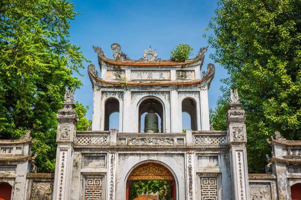 Hanoi - templo de la Literatura