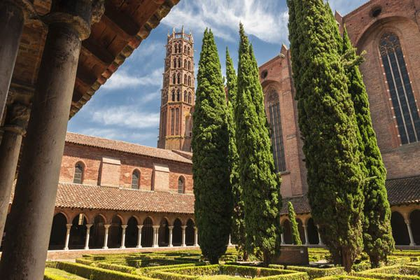 Convento de los Jacobinos en Toulouse