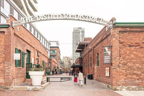 Distillery District en Toronto