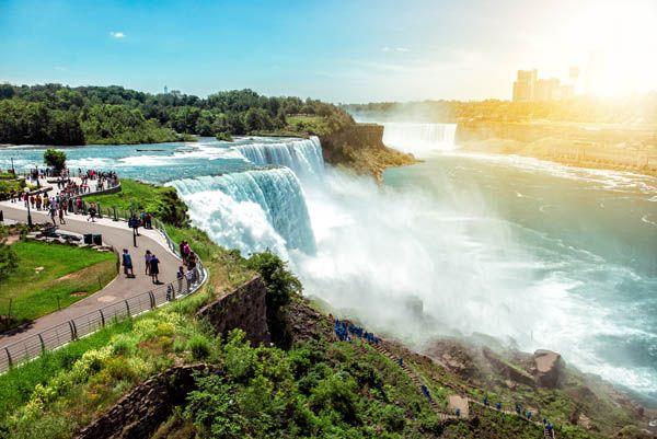 Niágara Falls en Canadá