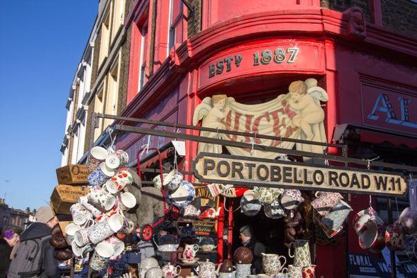 Portobello Road en Londres