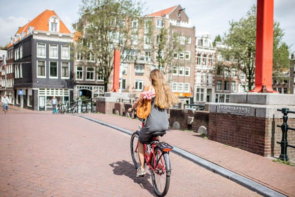 En bici por Amsterdam