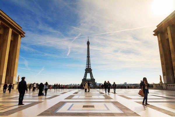 Plaza del Trocadero de París