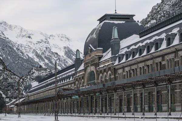 Estación de Canfranc