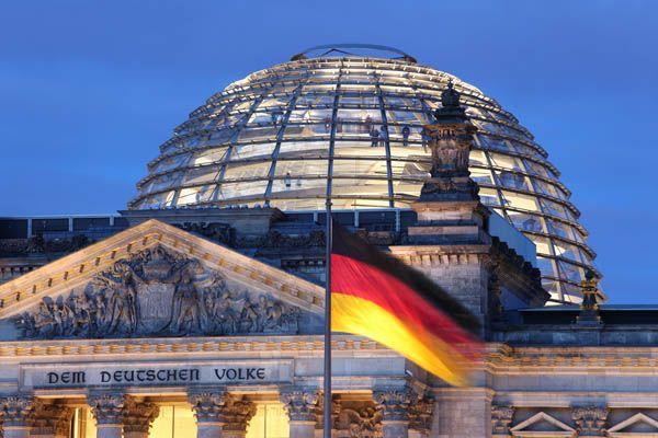 Cupula del Reichstag en Berlin