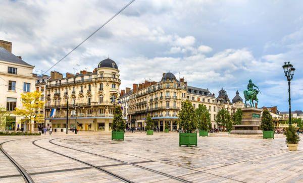 Plaza de los Mártires en Orleans