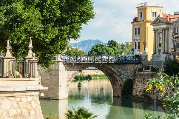 Puente viejo de Murcia, qué ver en Murcia