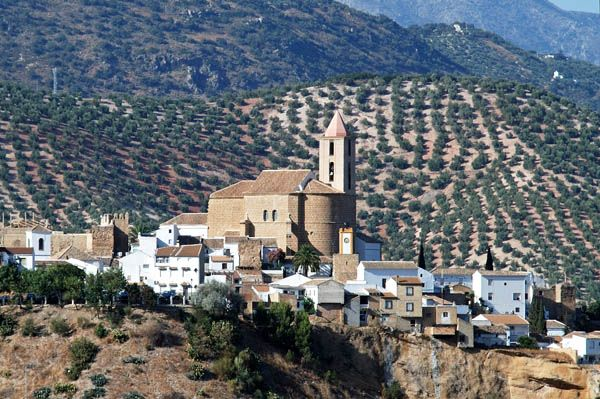 Iznájar, pueblos con encanto de Córdoba.