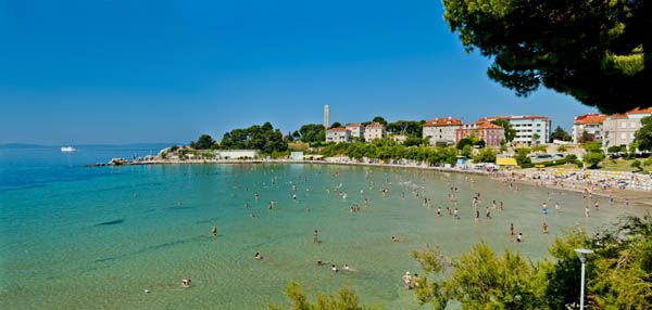 Playa Bacvice en Split