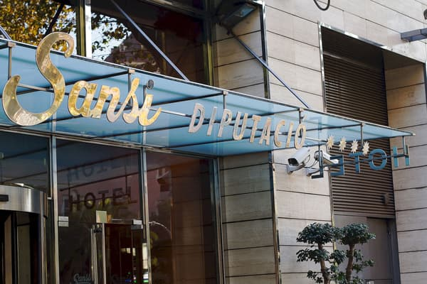 Hotel Sansi Diputacio, donde dormir en Barcelona