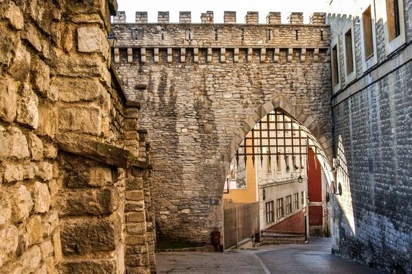 La muralla de Vitoria