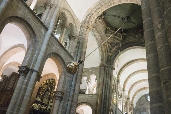 Botafumeiro, Santiago de Compostela
