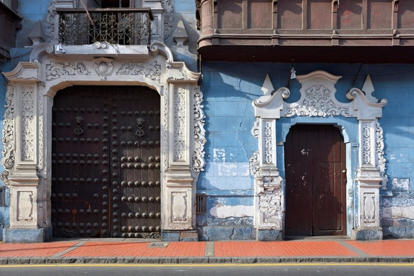 Casco antiguo Lima