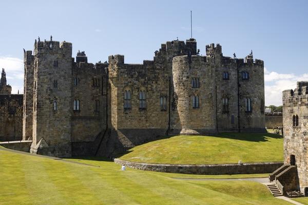 Alnwick Castle, Castillo de Harry Potter