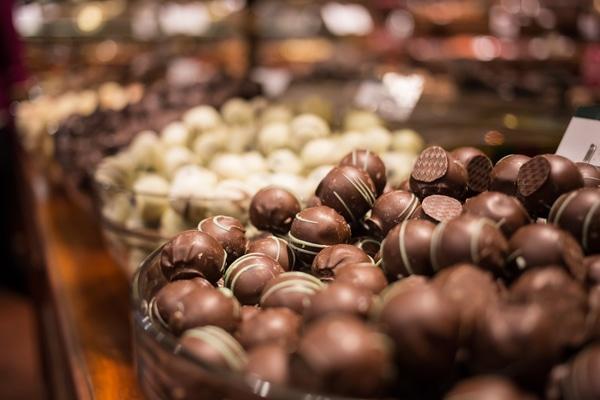 Comer el mejor chocolate belga