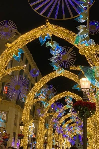 Luces de Navidad Málaga