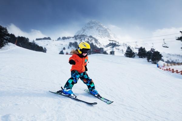 Viajar con niños en invierno en Andorra