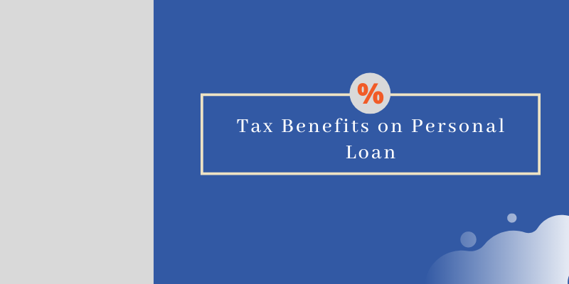 Tax benefit Personal loan