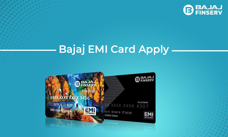 Apply Bajaj EMI Card