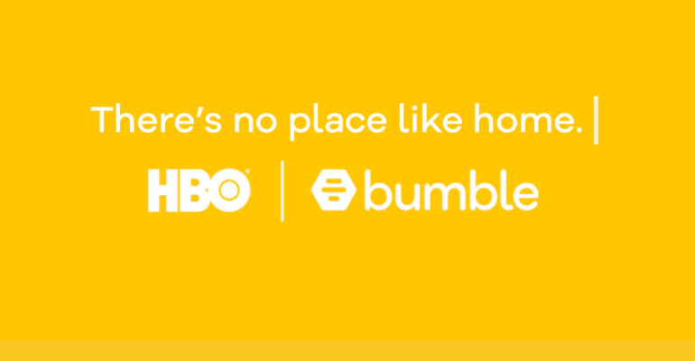 Bumble and HBO co-marketing campaign