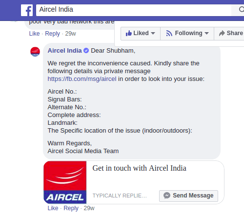 Aircel India