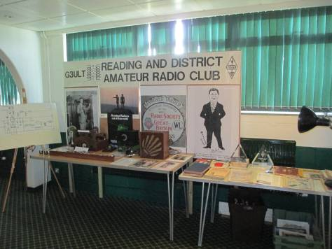 Peter's celebration of RADARC history at Reading Rugby Football club, 2014.