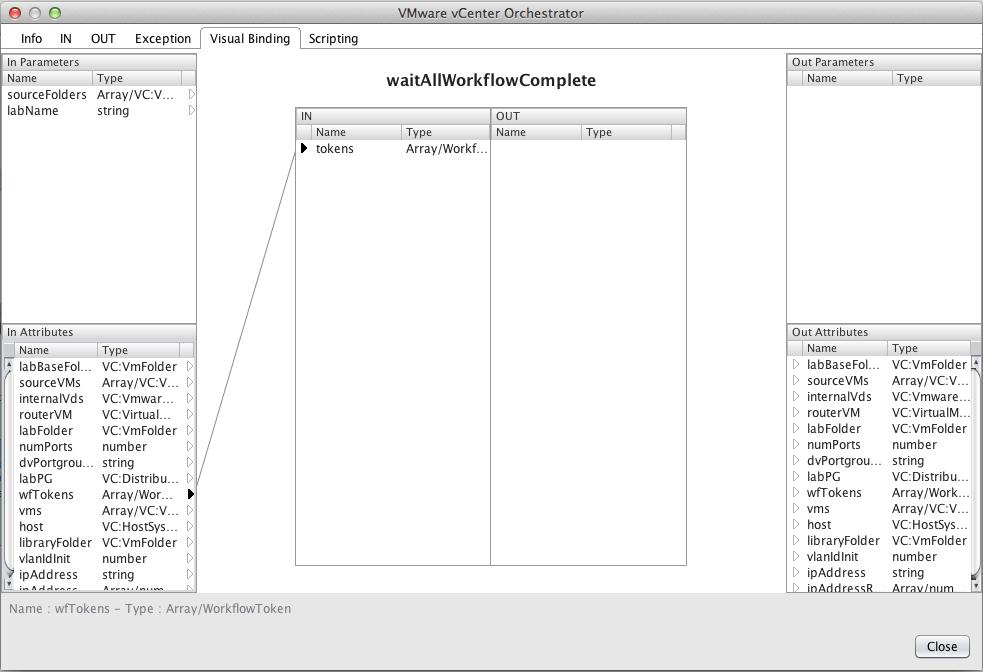 parameter binding