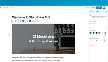 WordPress 5.0 is Now Available